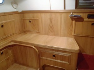 Hand made cabinets